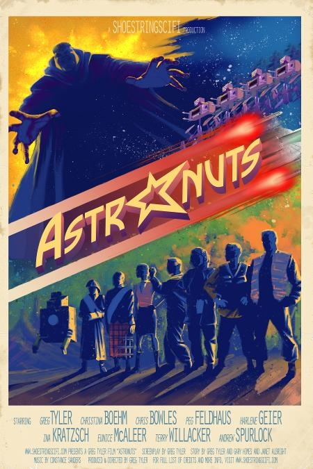 ASTRONUTS Movie Poster (Created by Adam Hastings)